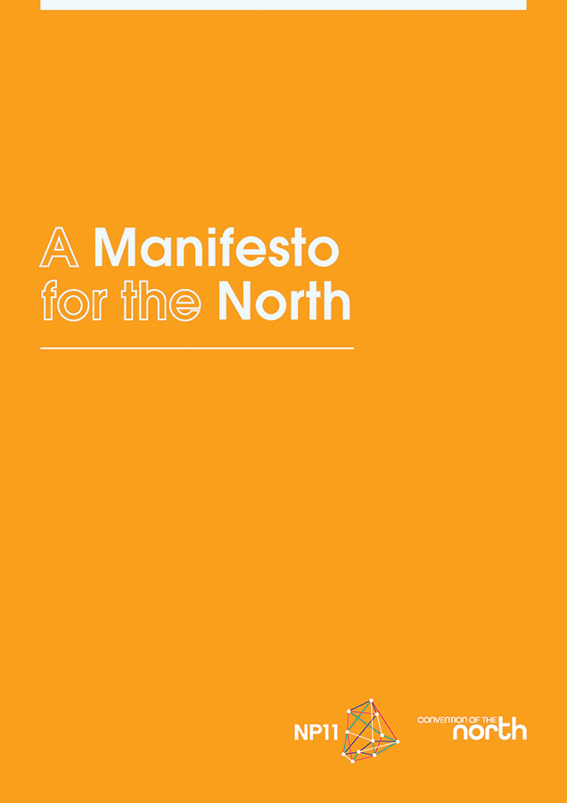 Manifesto for the North cover page