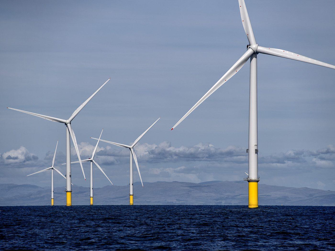 Offshore Windfarm, Walney