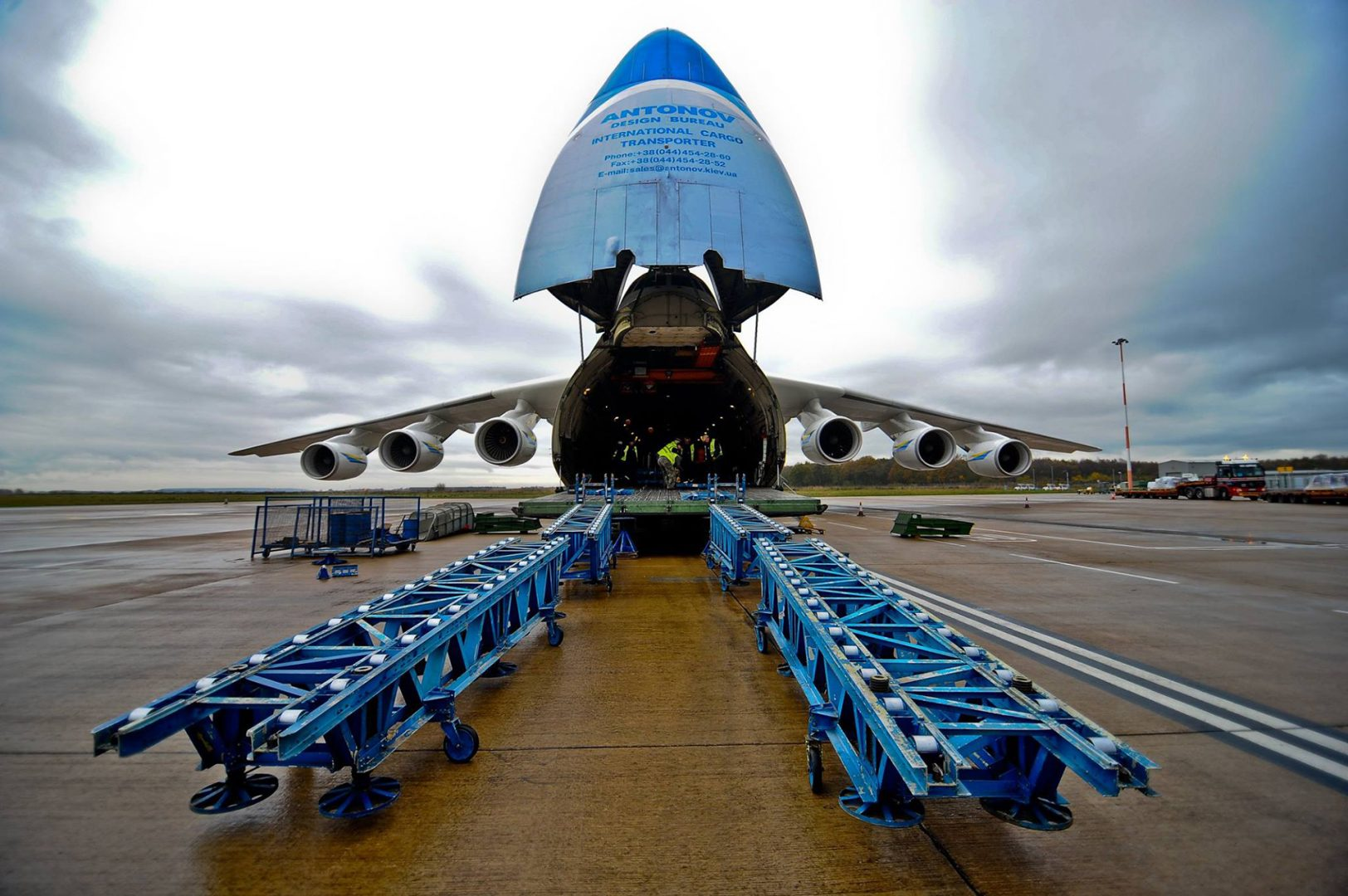 Antonov-225 at Doncaster Airport