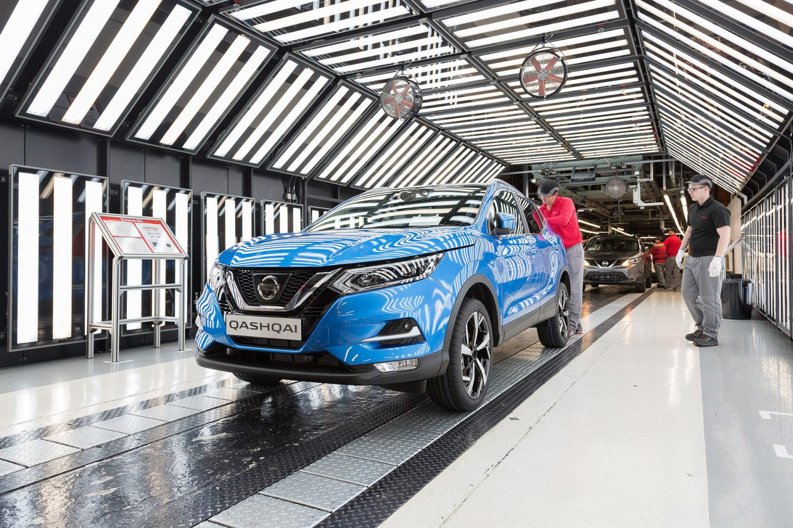 Nissan production line, Sunderland